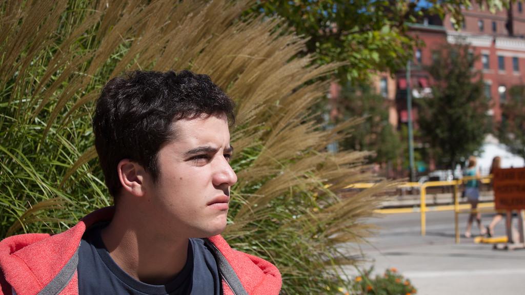 Emilio Photo Shoot, COM Lawn, Sept. 2015