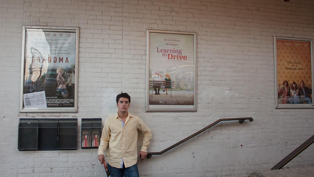 Emilio Photo Shoot, Cooldige Corner Theater, Sept. 2015