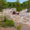 Summer day on the Verde River, 7/17/18. River at about 70 CFS