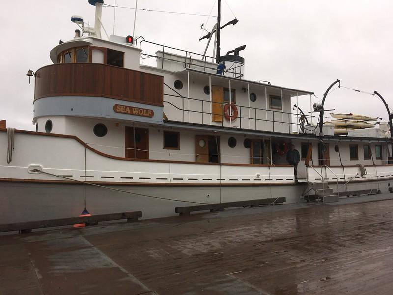 Our Ship awaits