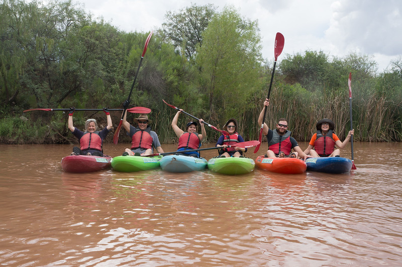 Verde River Institute Float Trip, Tapco to Tuzi, 7/29/17
