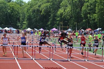 Girls 100m Hurdles