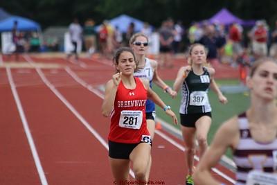 Girls 800m Run