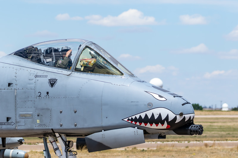 "-(Aircraft) Fairchild Republic A-10C Thunderbolt II<br /> -(Nation & Service) United States Air Force<br /> -(Squadron) 76th Fighter Squadron ""Vanguards"" <br /> -(Home Base) Moody Air Force Base, Georgia"