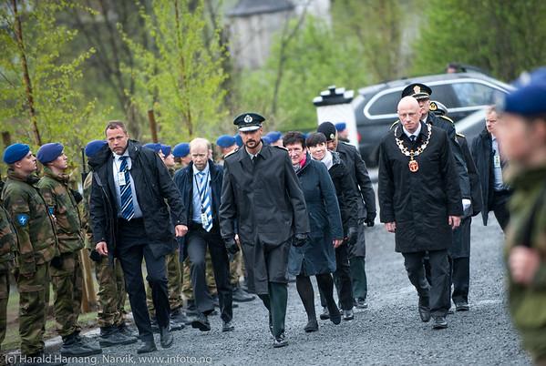 75 års minne-markering for gjenerobring av Narvik  28. mai 1940