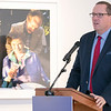 UMass Memorial HealthAlliance-Clinton Hospital announces $750,000 investment in Fitchburg Arts Community on Wednesday, Dec. 18, 2019 at the Fitchburg Art Museum. Making remarks at the announcement is Interim President of UMass Memorial Steve Roach. SENTINEL & ENTERPRISE/JOHN LOVE