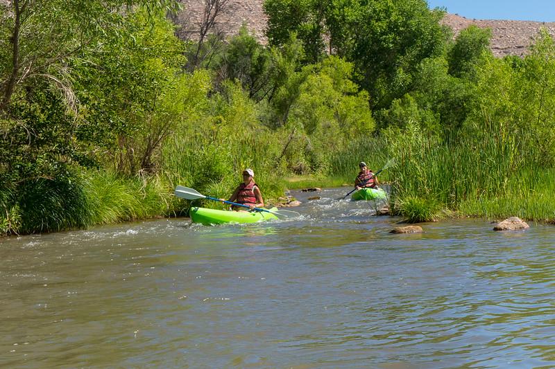 Verde River Institute Float, Tapco to Tuzi, 7/5/19