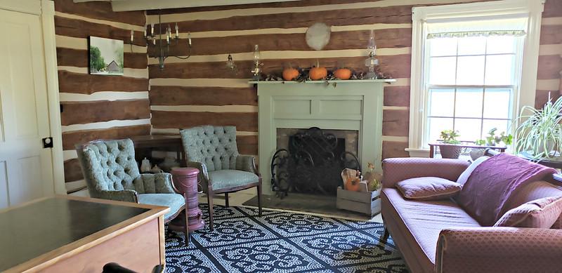 Living Room - original section