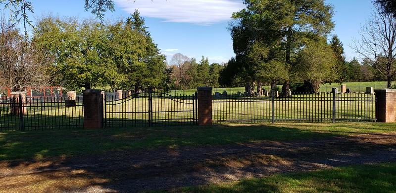 Arthur family cemetery near home dates back to 1854