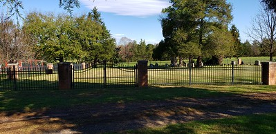 Arthur family cemetery near home dates back to 1854