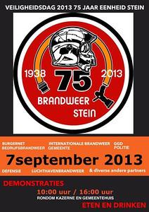 76 jaar Brandweer Stein