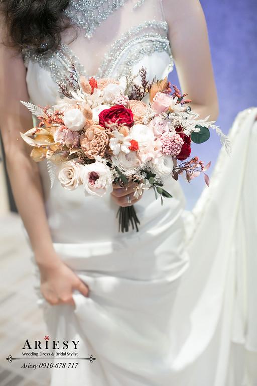 大亨小傳新娘造型,新秘,新娘秘書,台北新秘ARIESY,台北新秘推薦,送客新娘髮型