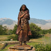 Status of Sacajawea. One of the most artistic, well done status of Sacajawea.
