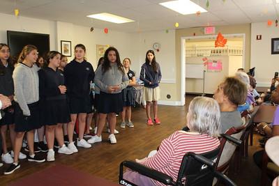 7th & 8th Grade Girls - Nursing Home Visit