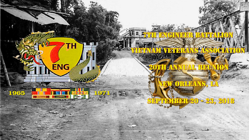 2018 7th Engineer Battalion Vietnam Veterans Association 20th Reunion Video