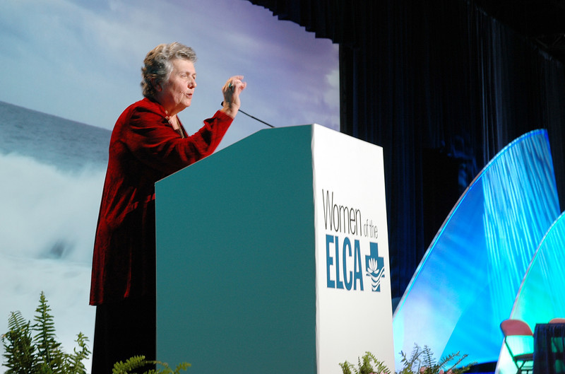 Sister Joan Chittister delivers a powerful message