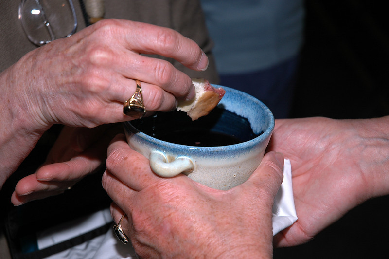Holy Communion is part of the Thankoffering Service.