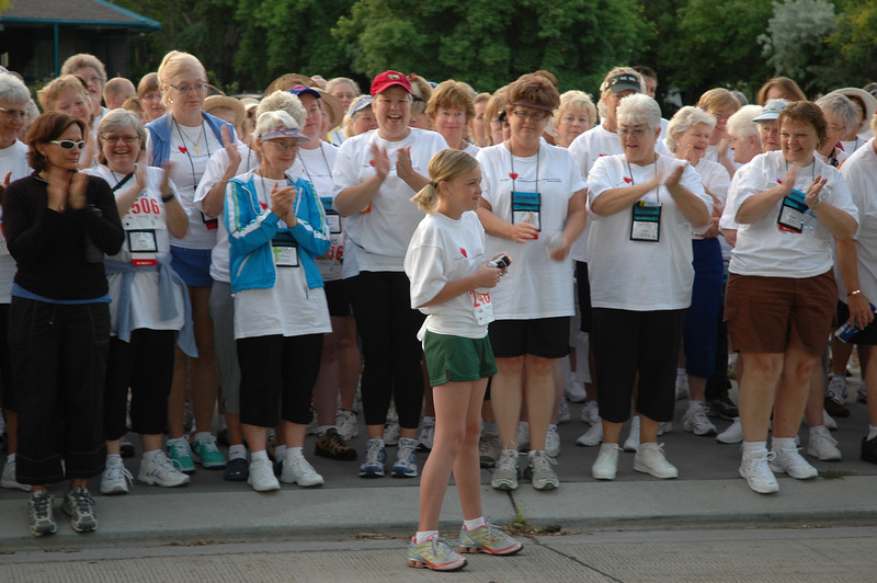 Zoe Zitler, 11, raised a $500 donation for her participation in the Run, Walk, 'n' Roll.