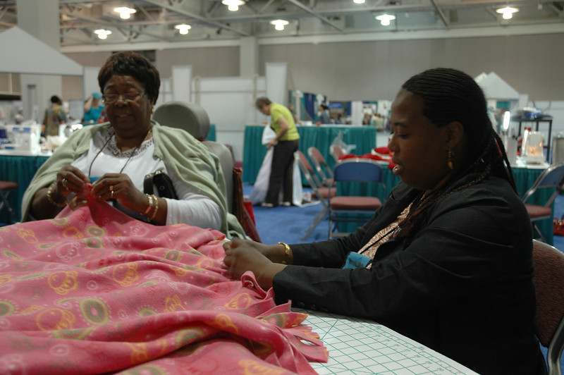 LIRS blankets will warm the hearts and bodies of refugees.