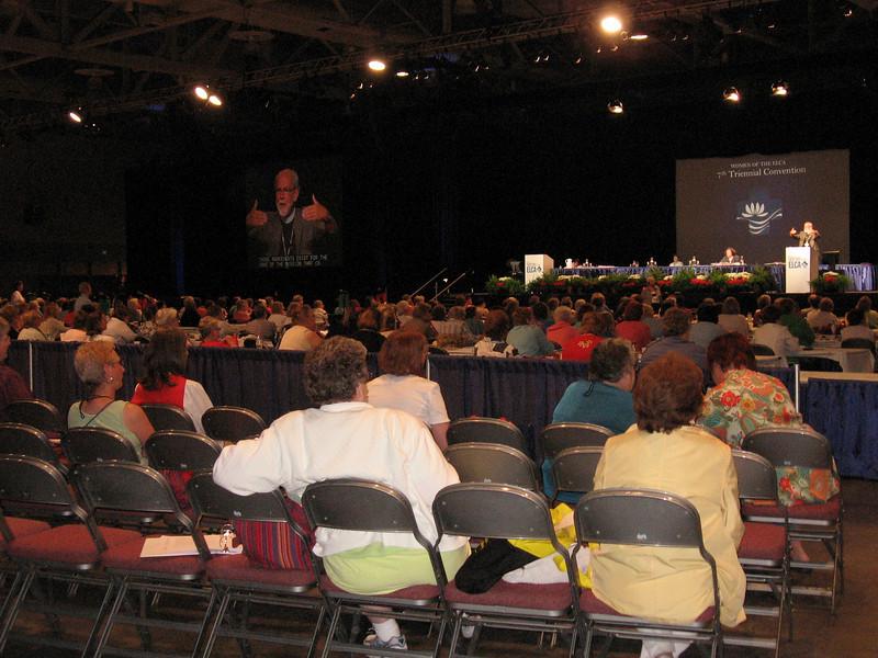 Enjoying Bishop Hanson's message (TLB)