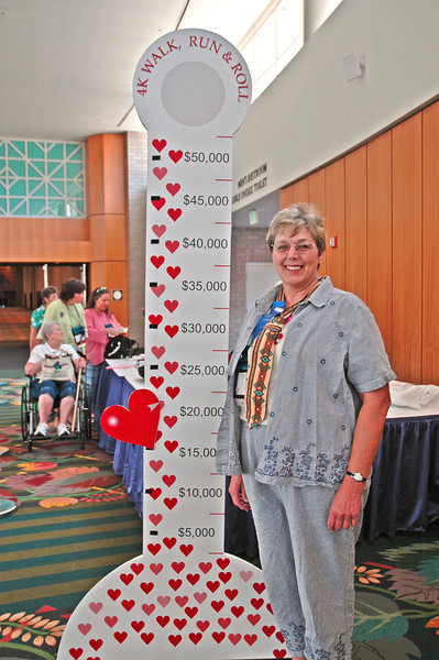 Susan Drane, president of the Grand Canyon synod, has raised more than $5,200 for the Run/Walk/Roll - Raising Up Healthy Women and Girls