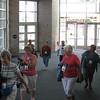 Delegates arriving (TLB)