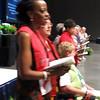 New Officers, Board Installed - Delegates wrapped up business Thursday morning with the installation of the 2008-2011 churchwide executive board.<br /> <br /> The newly elected officers include: Beth G. Wrenn (Kill Devil Hills, North Carolina, 9B) president; Charlene Spillmann (Kyle, Texas, 4E) vice president; Betty Brandt (Grand Rapids, Minnesota, 3E) secretary, and Anjanette B. Hodges (Christiansburg, Virginia, 9A) treasurer.<br /> <br /> Elected to second terms on the churchwide executive board were Diane L. Brauer (Lincoln, Neb., 4A); The Rev. Rosalind M. Brathwaite (Astoria, N.Y., 7C); Cam Martin (Minocqua, Wisconsin, 5G); and Marie A. Tesch (Waseca, Minnesota, 3I).<br /> New board members include vEnessa Acham (Lebanon, New Hampshire, 7B); Marlene J. Bergum (De Pere, Wisconsin, 5J); Kristine E. Brugamyer (Dickinson, North Dakota, 3A); Marjorie Dykstra (Akron, Iowa, 5E); Diane J. Frederick (Oak Park Heights, Minnesota, 3H); Jo Ann Fuchs (West Columbia, Texas, 4F); Sandra S. Lange (Choteau, Montana, 1F); Glynis Reid-Megargel (Old Bridge, New Jersey, 7A); Jennifer S. Michael (9E); Vickie L. Murph (Columbus, Ohio, 6F); Phyllis Rude (Anchorage, Alaska, 1A); Charleen Walker-Horton (York, Pennsylvania, 8F); Sharon Heck (Whittier, California, 2B).