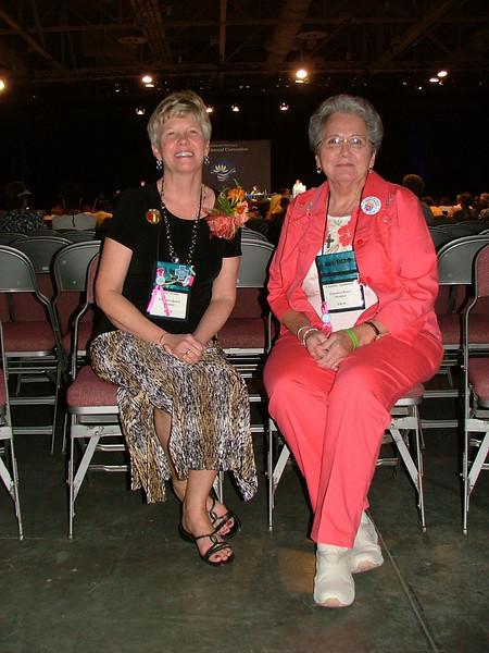 President Beth Wrenn and Vice president Charlene Spillmann