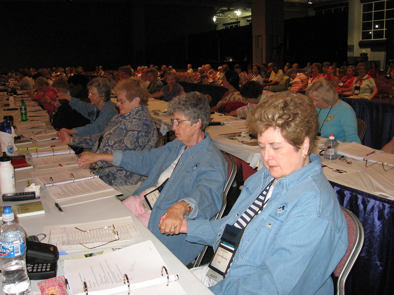 Group prayer (TLB)