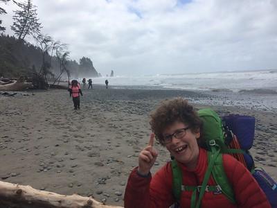7th grade coast trip May 2017