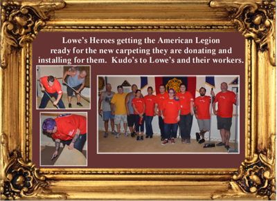 8-13-17 Lowe's Heroes helping those who help others.