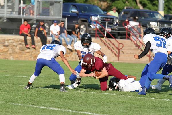 8-18 LD football vs Red Cloud