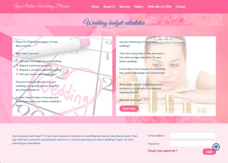 80130 yoep p online wedding planner system costablancaevents