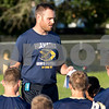 Sam Buckner for Shaw Media.<br /> Head Coach Jason Keneway talks to his team after practice on Tuesday August 8, 2017.