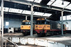 left to right <br /> <br /> 58 041 / 58 004 <br /> <br /> Barrow Hill <br /> <br /> 11th April 1987