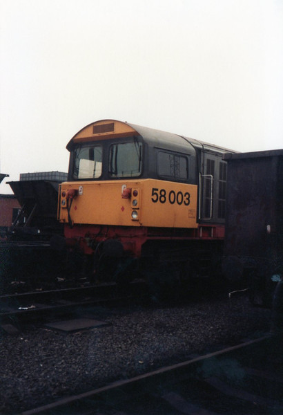 58 003 <br /> <br /> Toton<br /> <br /> 19th May 1984