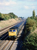13th Oct 81:  47475 on the point of the 12.50 from Paddington to Worcester at Milley Bridge