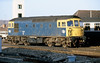1st Jan 81:  Sulzer 33101 waits at Reading for the next call of duty