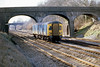 6th Feb 81:  Parcels Van (Class 128) on the Up Main at Ruscombe