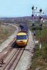 18th Apr 1981: 253033 to Paddington at Hawkeridge Junction.  Diverted onto the Berks & Hants  due to bridge work at Swindon