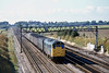 13th Oct 81:  31230 brings a parcels train on the Up Main at Milley Bridge