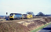 4th Jan 81:  47089 Amazon heads a departmental service on the Down Relief past Waingels Road