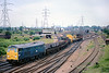 30th Jun 81:  Leaving Temple Mills is 31133 with ashort mixed freight