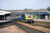 29th Jun 81:  47502 working the 17.35 Paddington to Oxford makes the Twyford stop