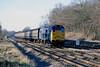 4th Jan 81:  31209 with an up commuter train from Oxford at Waingels Road at the exit from the Sonning Cutting