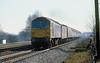 1st Feb 81:  47518 nears Tilehurst with the 10.30 Padington to Worcester