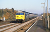 5th Nov 81:  50039 races though Byfleet and New Haw with a lunchtime Waterloo to Exeter service