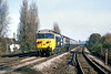 13th Nov 81:  50022 heads the11.10 Waterloo to Exeter through West Byfleet