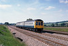 21st Jun 81:  Set L401 on the 16.29 Didcot to Reading on the site of the Water Troughs at Lower Basildon