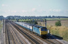 13th Oct 81:  47509 'Albion' heads the 08.20 from Liverpool to Paddington  past Milley Brige in Waltham St Lawrence